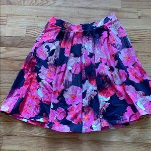 NWOT floral skirt!